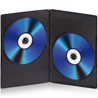TnB Caixas DVD Double Slim 10 uni (BINODVD10SLD)