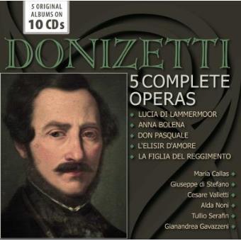 Donizetti | 5 Complete Operas (10CD)