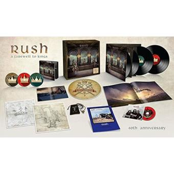 A Farewell To Kings - 3CD + 4LP + Blu-ray