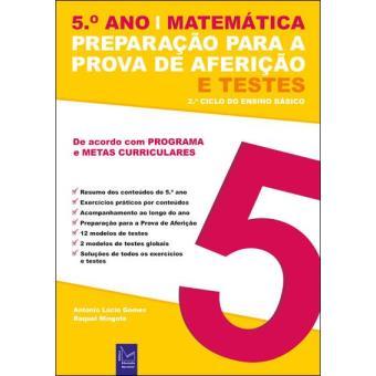Preparação para a Prova de Aferição e Testes - Matemática 5º Ano