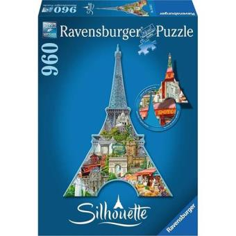 Puzzle Torre Eiffel Silhueta (960 peças)