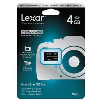 Lexar Memory Stick Pro Duo 4GB