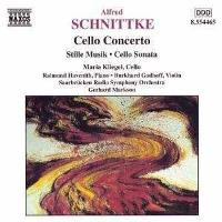 Schnittke | Cello Concerto, Stille Musik for violin and cello & Cello Sonata No. 1