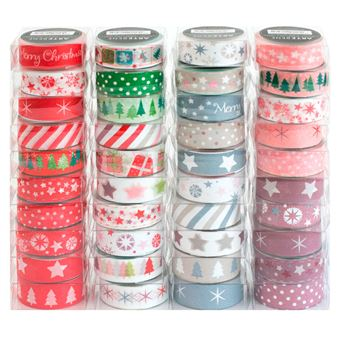 Fita-Cola Decorativa Natal - Envio Aleatório