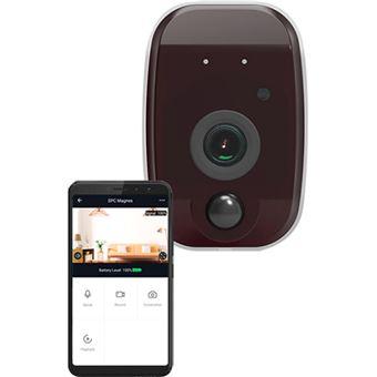 Câmara de Segurança Inteligente Wi-Fi SPC Magnes - FHD 960p