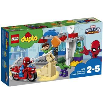 LEGO DUPLO 10876 As Aventuras de Spider-Man e Hulk