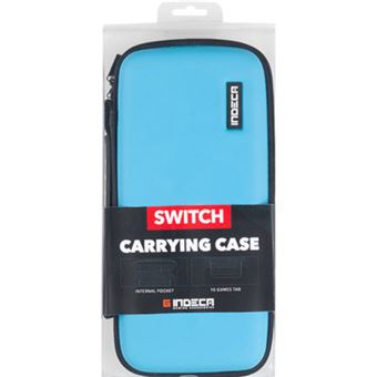 Indeca Bolsa Azul - Nintendo Switch
