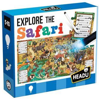 Puzzle Explore The Safari - Headu