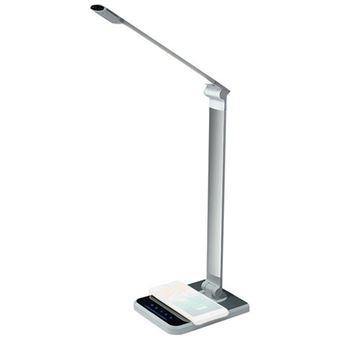 Lâmpada com Carregamento Wireless Innjoo iLamp Alma - Prateado
