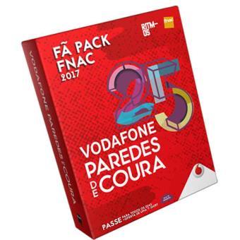 Fã Pack Fnac Vodafone Paredes de Coura 2017 - Passe 4 Dias: T-Shirt L (Aderente)