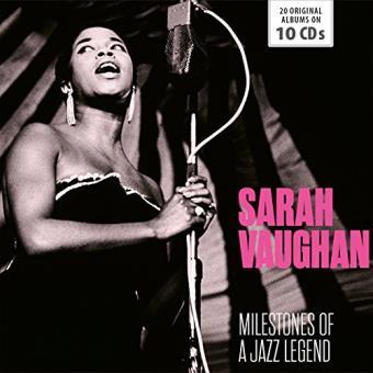 Sarah Vaughan: Milestones Of A Jazz Legend - 10CD