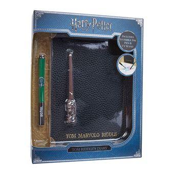Diário e Caneta Invisível Harry Potter: Tom Marvolo Riddle