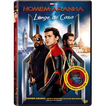 Homem-Aranha: Longe de Casa - DVD + Porta Cartões