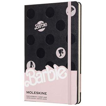 Caderno Pautado Moleskine Barbie - Polka Dots Grande
