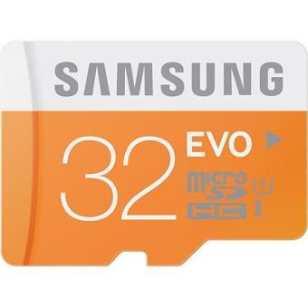 Samsung Evo Micro SDHC 32GB 45MB/s Class10 UHS-1