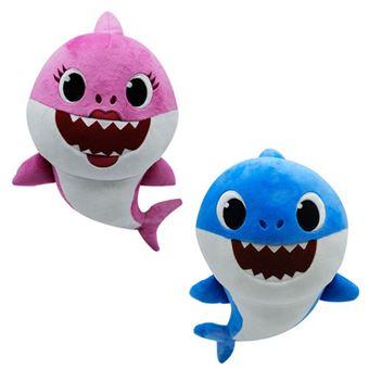 Peluche Musical Família Baby Shark - Bandai - Envio Aleatório