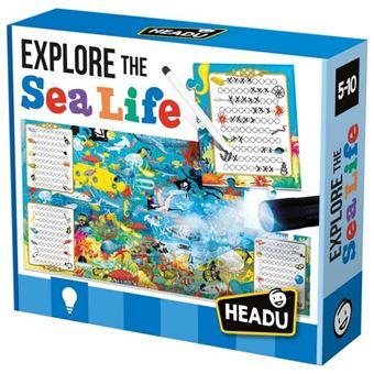 Puzzle Explore The Sea Life - Headu
