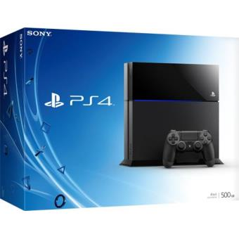 Consola Sony PS4 500GB (Black)
