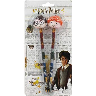 Lápis 3D com Borracha Harry Potter