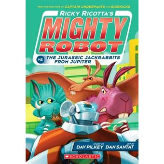 Ricotta's mighty robot vs the juras