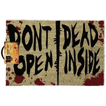 Tapete de Porta The Walking Dead: Don't Open Dead Inside