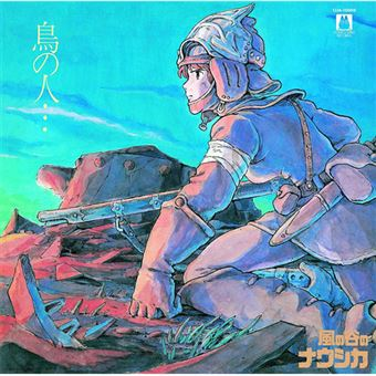 BSO Nausicaa of The Valley of Wind: Tori No Hito - LP Colored