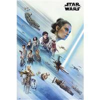 Poster Star Wars Episodio IX A Resistência