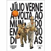 Clássicos da Literatura em BD - Livro 1: A Volta ao Mundo em 80 Dias
