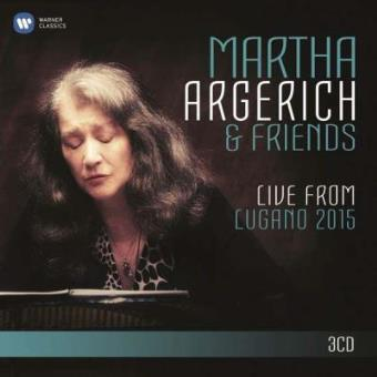 Martha Argerich & Friends (3CD)