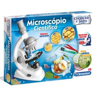 Microscópio Cientifico - Clementoni