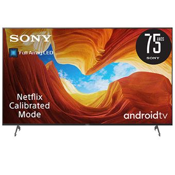 Smart TV Android Sony UHD 4K 65XH9096 165cm