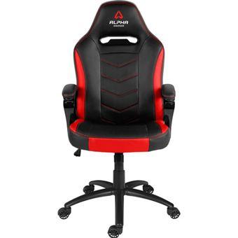 Cadeira Gaming Alpha Kappa - Preto   Vermelho