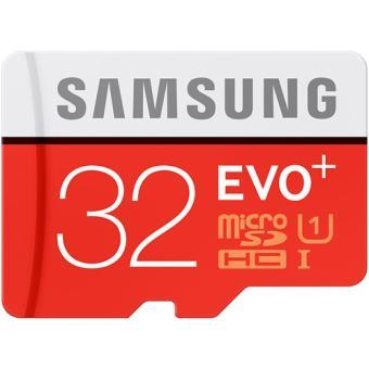 Cartão MicroSDHC Samsung Evo Plus Classe 10 - 32GB