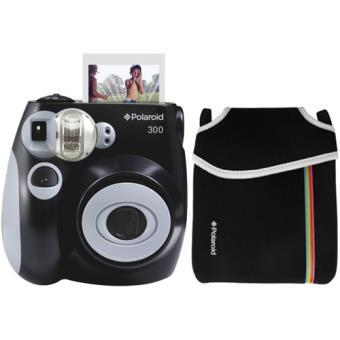 10be4a1798ef2 Polaroid Instant 300 + Estojo - Preto - Câmara Analógica - Compra na ...