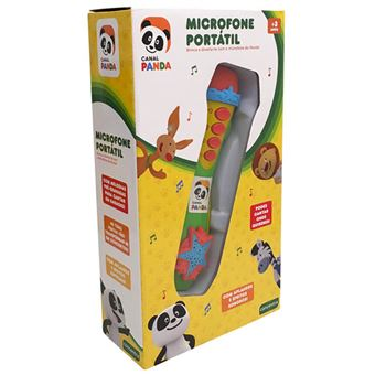 Panda Microfone Portátil - Concentra