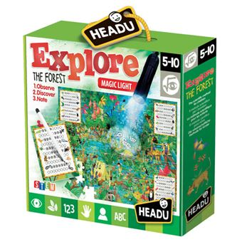 Puzzle Explore The Forest - Headu