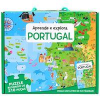 Puzzle e Livro: Aprende e Explora - Portugal