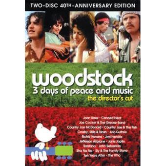 Woodstock Edição 40 Anos Director's Cut - DVD