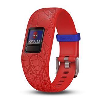Monitor de Atividade Garmin VívoFit jr.2 Spider-Man - Vermelho