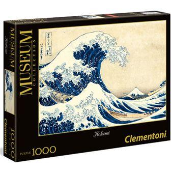Puzzle Hokusai: A Grande Onda - 1000 Peças - Clementoni