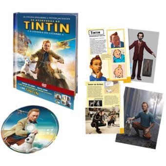 TintinAs Aventuras de Tintin: O Segredo do Licorne (DVD + Digibook)