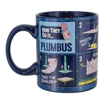 Caneca Rick and Morty Plumbus Instruction
