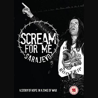 Scream For Me Sarajevo - Blu-ray
