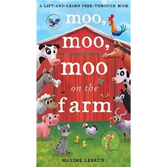 Moo, moo, moo on the farm