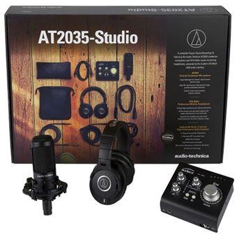 Pack Microfone AT2035 Studio Audio-Technic