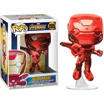 Funko Pop! Avengers Infinity War: Iron Man - Red Chrome - 285
