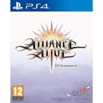 The Alliance Alive HD Remastered - PS4