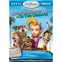 Novas Fábulas: Caracolinhos de Ouro e os Três Ursinhos - DVD