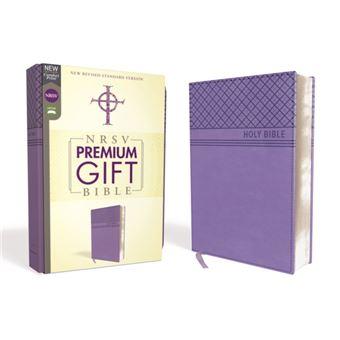 Nrsv, premium gift bible, leatherso
