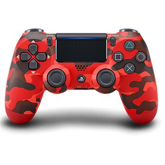 Sony Comando Dualshock 4 Red Camouflage PS4